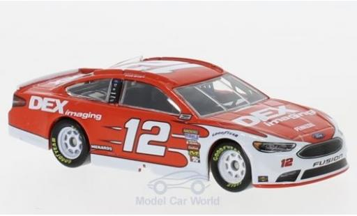 Ford Fusion 1/64 Lionel Racing No.12 Team Penske DEX Imaging Nascar 2018 R.Blaney miniature