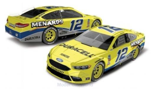 Ford Fusion 1/64 Lionel Racing No.12 Team Penske Menards Nascar 2018 R.Blaney miniature
