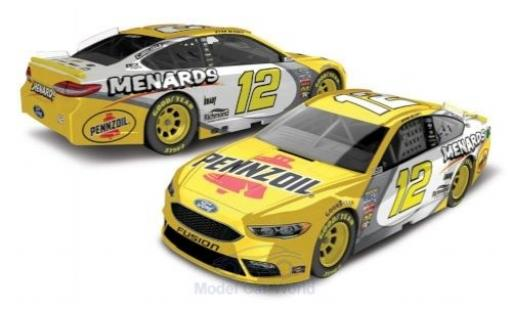Ford Fusion 1/64 Lionel Racing No.12 Team Penske Pennzoil Nascar 2018 R.Blaney miniature