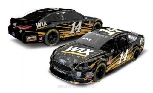 Ford Fusion 1/64 Lionel Racing No.14 Stewart-Haas Racing Wix Filters Nascar 2018 C.Bowyer miniature