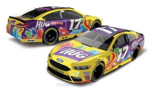 Ford Fusion 1/64 Lionel Racing No.17 Roush Fenway Racing Little Hug Fruit Barrels Nascar 2018 R.Stenhouse Jr. miniature