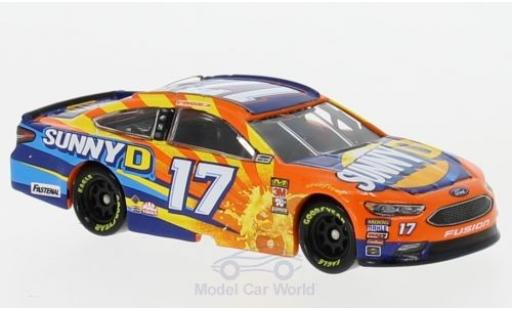 Ford Fusion 1/64 Lionel Racing No.17 Roush Fenway Racing Sunny D Nascar 2018 R.Stenhouse Jr. miniature