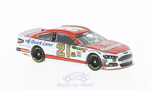 Ford Fusion 1/64 Lionel Racing No.21 wood 21brougehers Motorcraft Nascar 2014 T.Bayne miniature