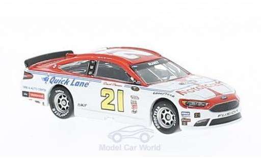 Ford Fusion 1/64 Lionel Racing No.21 Wood Brougehers Motorcraft Darlington Nascar 2016 R.Blaney ohne Vitrine miniature