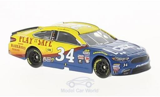 Ford Fusion 1/64 Lionel Racing No.34 Front Row Motorsports CSX Nascar 2017 L.Cassill miniature