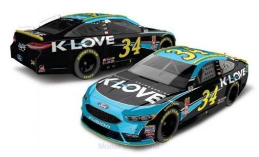 Ford Fusion 1/64 Lionel Racing No.34 FrontRow Motorsports K-Love Nascar 2018 M.McDowell miniature