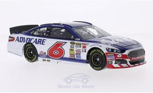Ford Fusion 1/24 Lionel Racing No.6 Roush Fenway Racing Advocare Nascar 2015 T.Bayne miniature