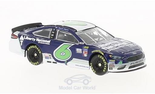 Ford Fusion 1/64 Lionel Racing No.6 Roush Fenway Racing Liberty National Nascar 2017 T.Bayne miniature