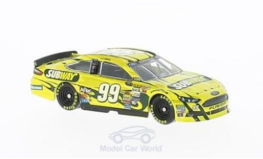 Ford Fusion 1/64 Lionel Racing No.99 Roush Fenway Racing Subway Nascar 2014 C.Edwards miniature