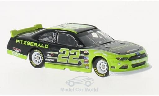 Ford Mustang 1/64 Lionel Racing No.22 Fitzgerald Nascar 2016 B.Keselowski miniature