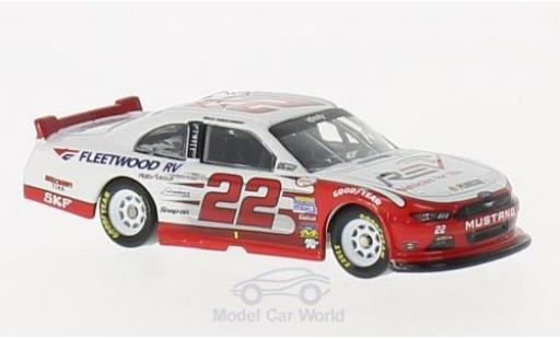 Ford Mustang 1/64 Lionel Racing No.22 Fleetwood RV Nascar 2016 B.Keselowski miniature