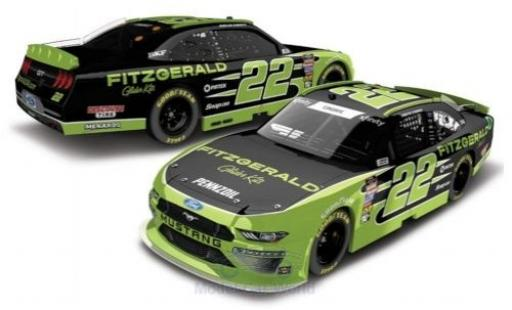 Ford Mustang 1/64 Lionel Racing No.22 Team Penske Fitzgerald Nascar 2018 A.Cindric diecast