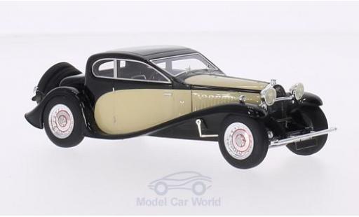 Bugatti 50 1/43 Look Smart Type T black/beige RHD 1930 diecast model cars