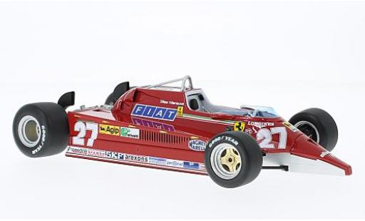 Ferrari 126 1/18 Look Smart CK No.27 Formel 1 1981 Version: VS F104S Starfighter G.Villeneuve modellino in miniatura