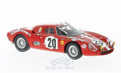 Ferrari 250 P 1/43 Look Smart LM No.20 Scuderia Filipinetti 24h Le Mans 1968 H.Müller/J.Williams miniature