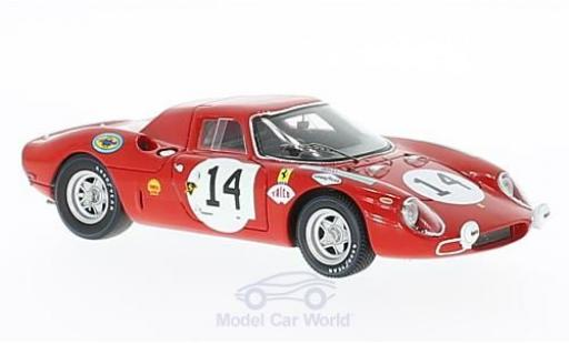 Ferrari 250 LM 1/43 Look Smart LM RHD No.14 24h Le Mans 1968 M.Gregory/C.Kolb miniature