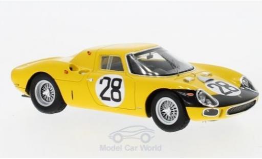 Ferrari 250 LM 1/43 Look Smart LM RHD No.28 24h Le Mans 1966 G.Gosselin/E. de Keyn miniature