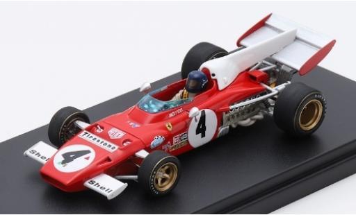 Ferrari 312 1/43 Look Smart B2 No.4 Scuderia Formel 1 GP Deutschland 1972 J.Ickx coche miniatura