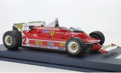 Ferrari 312 P 1/18 Look Smart T5 No.2 Formel 1 GP Monaco 1980 G.Villeneuve miniature