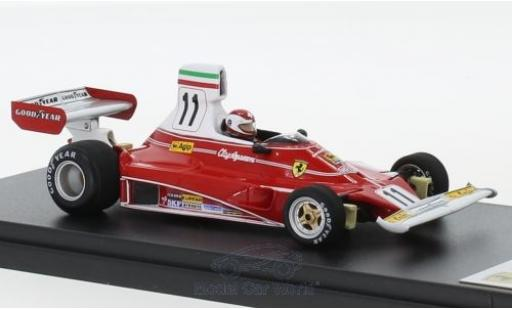Ferrari 312 1/43 Look Smart T No.11 Scuderia Formel 1 GP Italien 1975 C.Regazzoni miniatura