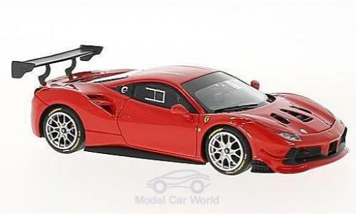 Ferrari 488 1/43 Look Smart Challenge red diecast