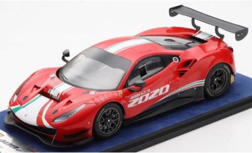 Ferrari 488 1/18 Look Smart EVO 2020 véhicule de présentation miniature
