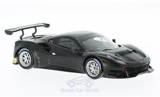 Ferrari 488 1/43 Look Smart GT3 nero miniatura