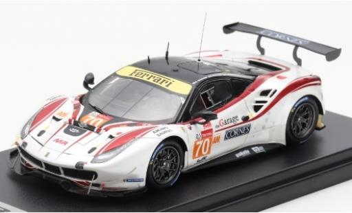 Ferrari 488 1/43 Look Smart GTE No.70 MR Racing 24h Le Mans 2019 O.Beretta/E.Cheever/M. Ishikawa diecast model cars