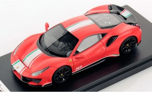 Ferrari 488 1/43 Look Smart Pista Piloti matt-rouge/Dekor miniature