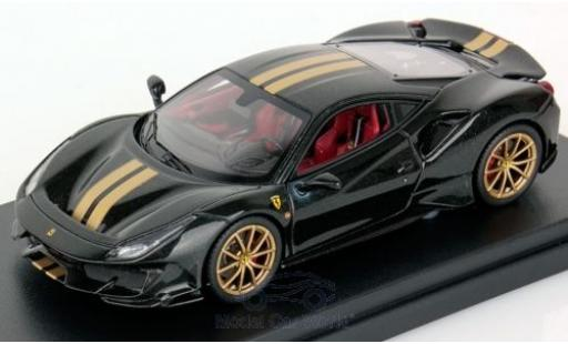 Ferrari 488 1/43 Look Smart Pista nero modellino in miniatura