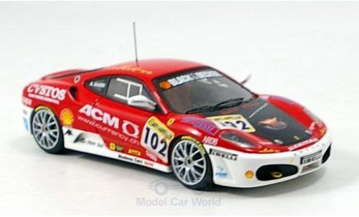 Ferrari F430 Challenge 1/43 Look Smart F 430 No.102 Modena Cars 2006 miniature