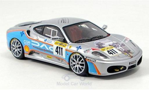Ferrari F430 Challenge 1/43 Look Smart F 430 Challenge No.411 Team Shelton 2006 miniatura