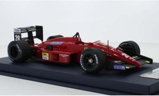 Ferrari F1 1/18 Look Smart -87/88 No.28 Formel 1 GP Italien 1988 G.Berger miniature
