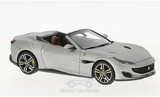 Ferrari Portofino 1/43 Look Smart matt-aluminium miniature