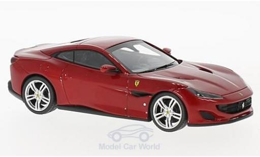 Ferrari Portofino 1/43 Look Smart metallise rouge miniature