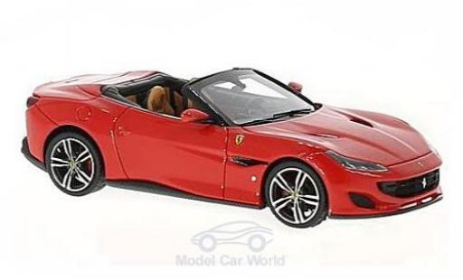 Ferrari Portofino 1/43 Look Smart rouge/noire miniature