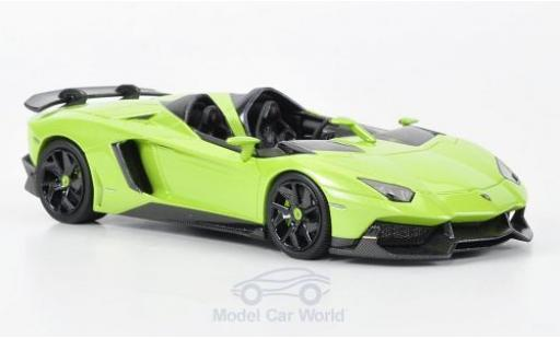 Lamborghini Aventador J 1/43 Look Smart metallise green 2012 Autosalon Genf diecast model cars