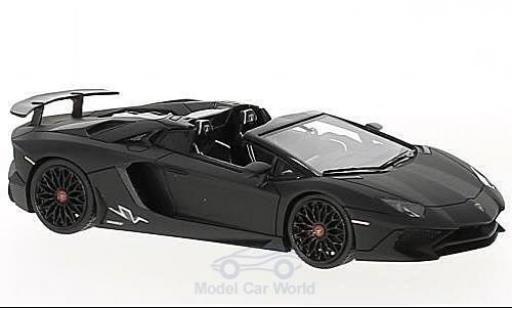 Lamborghini Aventador 1/43 Look Smart LP 750-4 Superveloce Roadster matt-black diecast