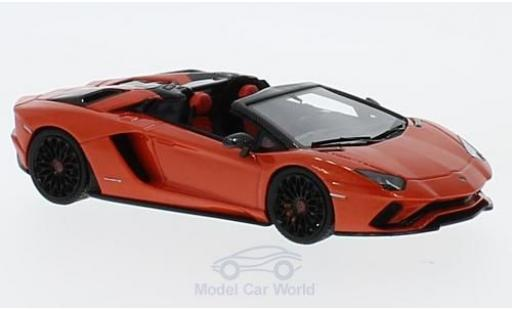Lamborghini Aventador Roadster 1/43 Look Smart S Roadster metallic-orange