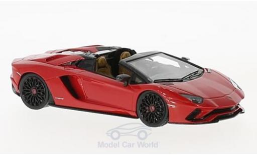 Lamborghini Aventador Roadster 1/43 Look Smart S Roadster rouge miniature