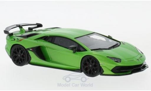 Lamborghini Aventador 1/43 Look Smart SVJ matt-green diecast