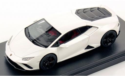 Lamborghini Huracan 1/43 Look Smart Evo RWD matt-blanche miniature