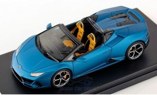 Lamborghini Huracan 1/43 Look Smart Evo Spyder matt-bleue 2019 miniature