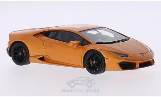 Lamborghini Huracan 1/43 Look Smart LP 580-2 metallic-orange 2015 miniatura
