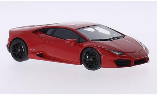 Lamborghini Huracan 1/43 Look Smart LP 580-2 rouge 2015 Los Angeles Motorshow miniature