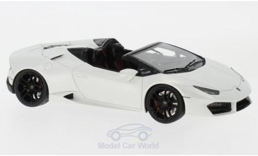 Lamborghini Huracan 1/43 Look Smart LP 580-2 Spyder metallise white diecast model cars