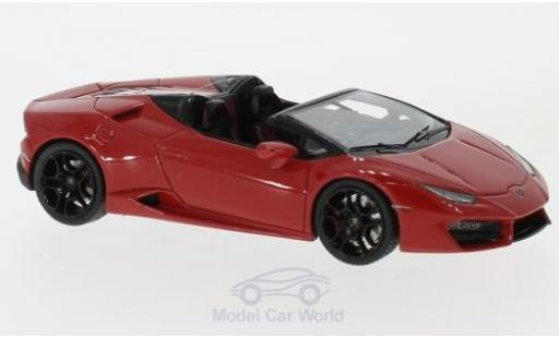 Lamborghini Huracan 1/43 Look Smart LP 580-2 Spyder red diecast