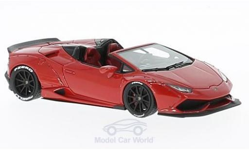 Lamborghini Huracan 1/43 Look Smart Spyder red Aftermarket diecast