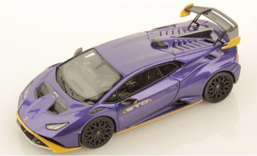 Lamborghini Huracan 1/43 Look Smart STO metallise purple/metallise yellow