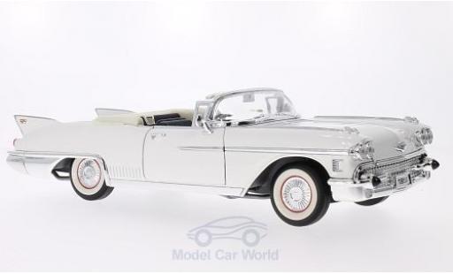 Cadillac Eldorado 1/18 Lucky Die Cast Biarritz white 1958 diecast model cars